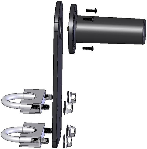 Mast Mount for SL-520A-501 Antenna
